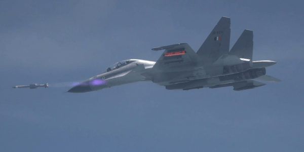 India Tests Indigenous Air-to-Air Missile