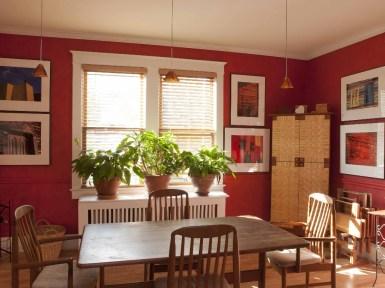 Традиционный американский дом в стиле Foursquare (интерьер столовой). Источник www.vrbo.com