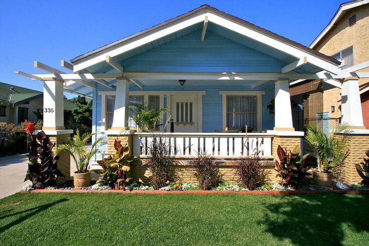 Дом в стиле California Bungalow и Craftsman в Калифорнии. Источник calbungalow.com