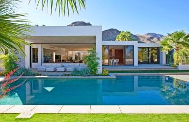 Вилла с бассейном в стиле Desert Modernism в Калифорнии. Источник www.californiahome.me