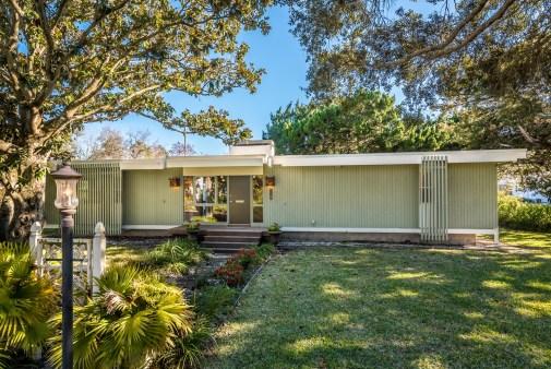 Дом в стиле Mid-century Vernacular. Расположен в городе St Augustine, штат Флорида. Источник www.irenearriola.com