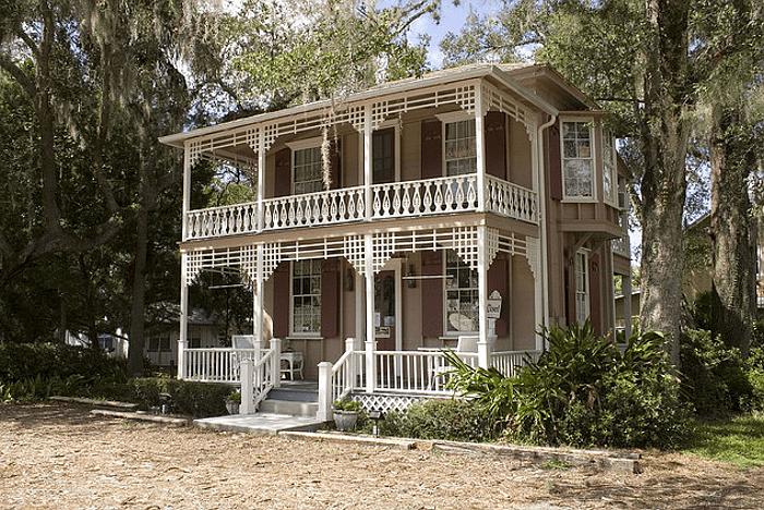 Дом в стиле Old Florida Cracker, 1870 год постройки. Источник https://www.flickr.com/photos/blackdoll/