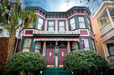 Таунхаусы в стиле Italianate. Находятся в Саванне, штат Джорджия. Построены в 1889 году. Источник http://parkavenuemanor.com
