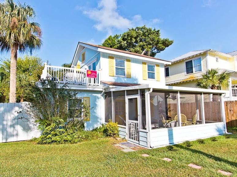 Дом в стиле Conch на острове Тайбей в Джорджии. Источник http://www.tybeevacationrentals.com