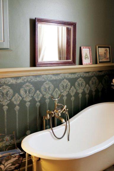 Дом в стиле Italianate, интерьер отреставрированный под итальянское ретро. Сам дом построен в 1872 году в Милуоки. Источник http://www.oldhouseonline.com