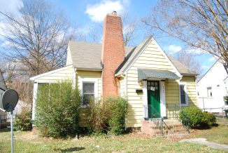 Дом в стиле Minimal Traditional Cottage. Источник littleboxes.org