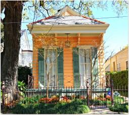 Дом в Новом Орлеане в стиле Bracket Shotgun. Источник http://www.nolahomes.net/