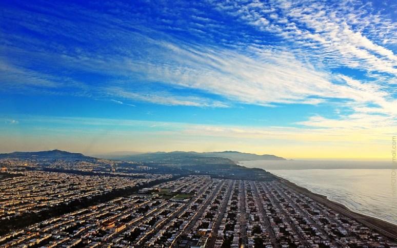 Район Outer Sunset в Сан-Франциско. Источник https://www.flickr.com/photos/nxtrfoto/