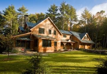 Дом в стиле Shingle Шингл в Вермонте. Источник bensonwood.com