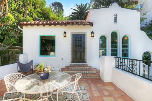 Spanish colonial bungalow