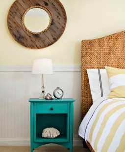 turquoise-table-beach-style-bedroom