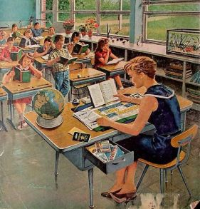post-war-poster-usa-school