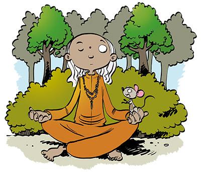 Afbeeldingsresultaat voor mediteren in het bos