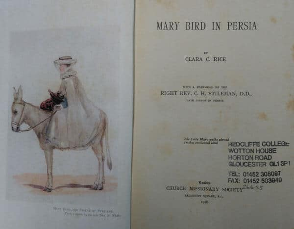 Clara C. Rice, Mary Bird in Persia