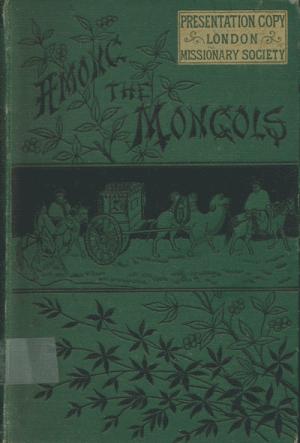 James Gilmour [1843-1891], Among the Mongols