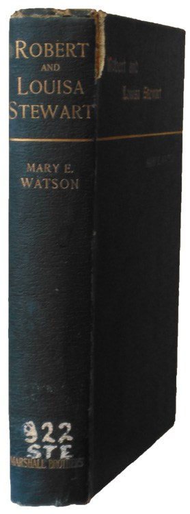 Mary E. Watson, Robert and Louisa Watson. In Life and Death