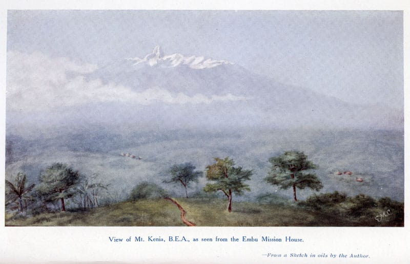 E. May Crawford [1864-1927], By the Equator's Snowy Peak. A Record of Medical Missionary Work and Teavel in British East Africa