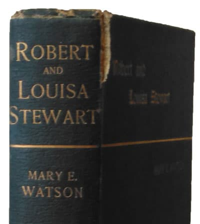 Mary E. Watson, Robert and Louisa Watson. In Life and Death.
