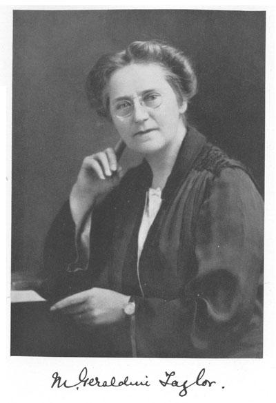 Mrs Geraldine Taylor