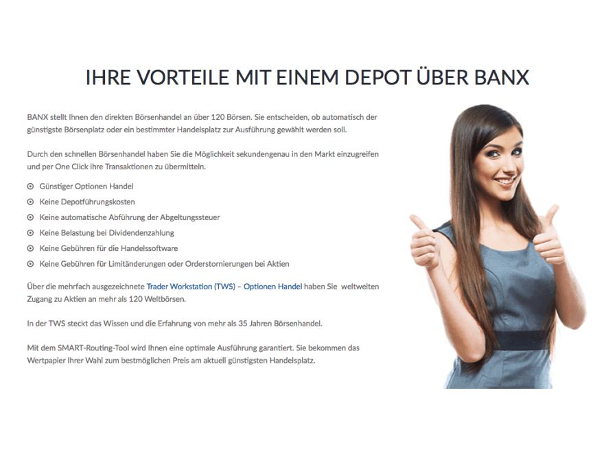 BANX Broker: Niedrigere Gebühren für den Optionshandel für Neukunden!