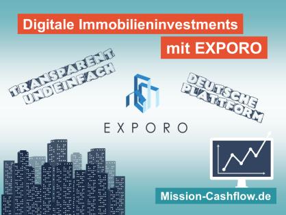 Exporo: Per Mausklick einfach und direkt in Immobilien investieren