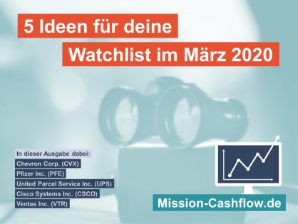 5 Ideen für deine Watchlist im März 2020