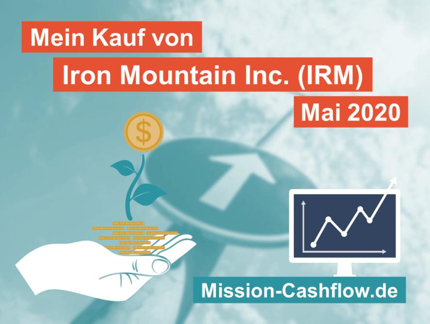 Mai 2020: Kauf von Iron Mountain Inc. (IRM)