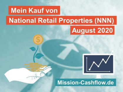 August 2020: Kauf von National Retail Properties Inc. (NNN)