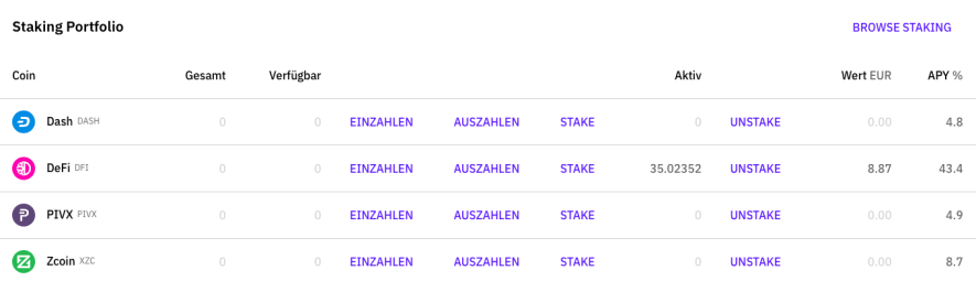 Bitcoin kaufen in 2020 - Cakedefi App 4