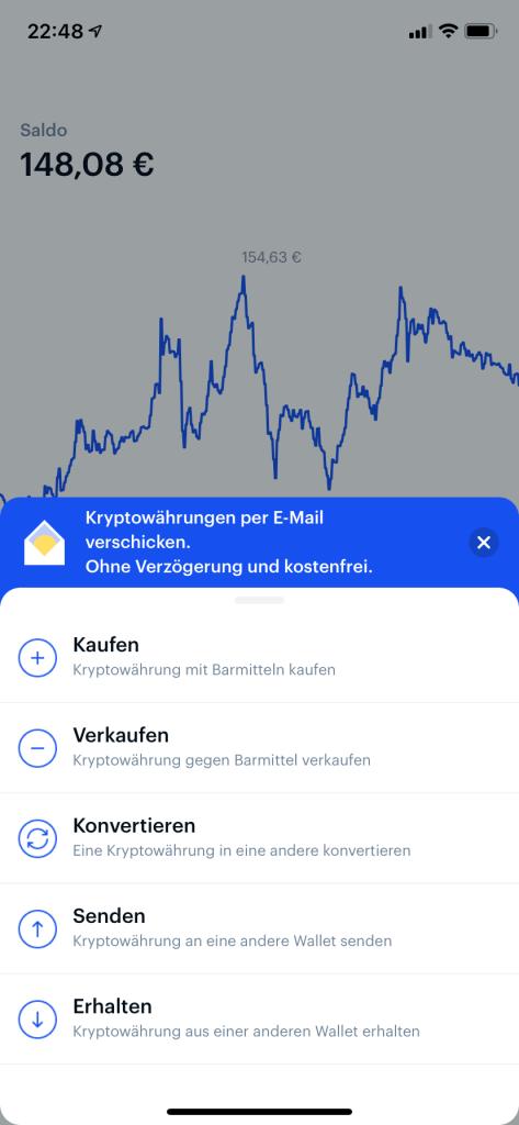 Bitcoin kaufen in 2020 - Coinbase App 2