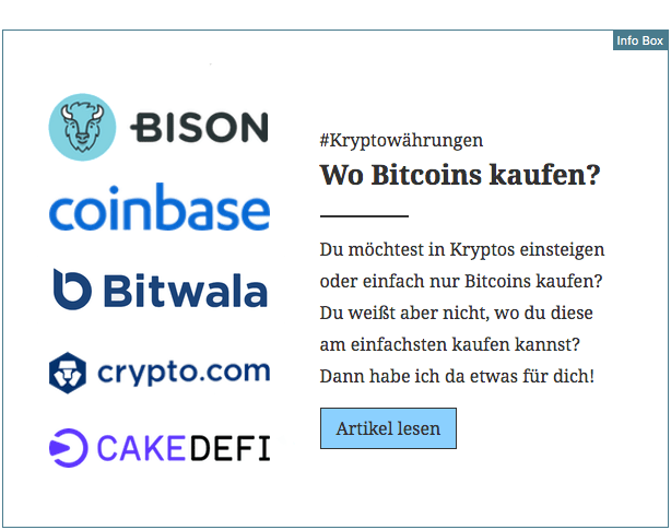 Info Box Bitcoin für den Blog v2