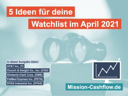 5 Ideen für deine Watchlist im April 2021