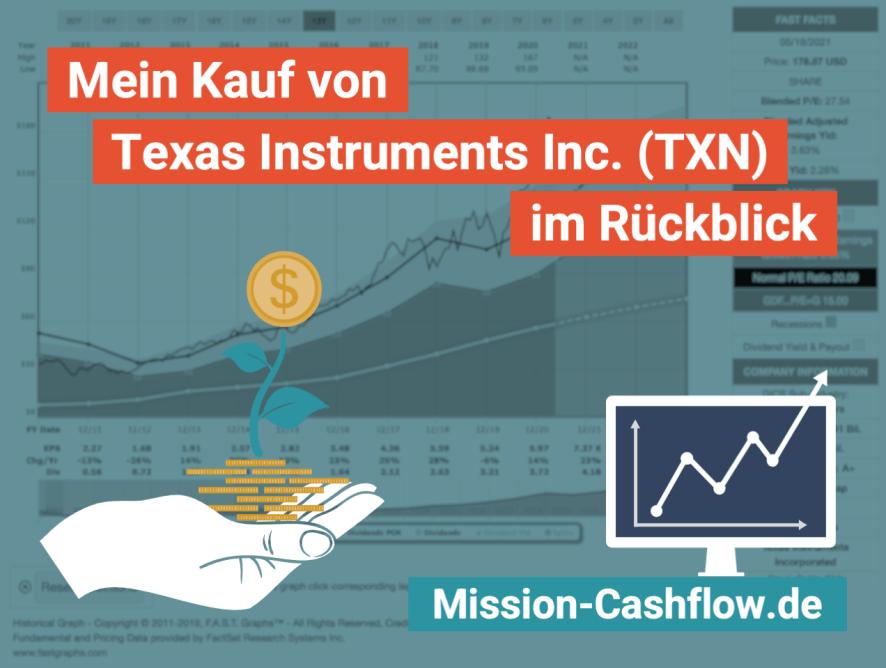 Im Rückspiegel: Mein Kauf von Texas Instruments Inc. (TXN)