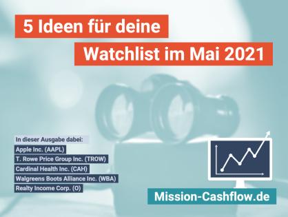 5 Ideen für deine Watchlist im Mai 2021