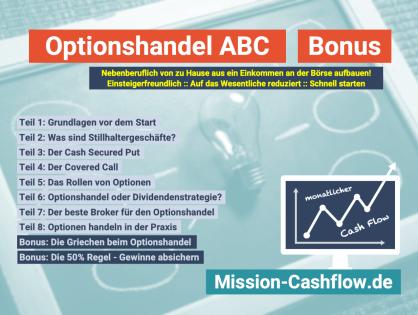 Optionshandel ABC: Die 50% Regel - Gewinne absichern!