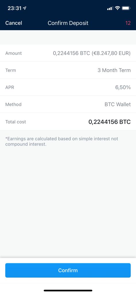 Crypto Earn Lending mit Crypto.com - Crypto Earn 5