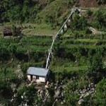 A small hydropower in nepal