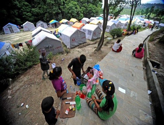 nepal-mission-from-himet-at-survivor-areas-of-nepal