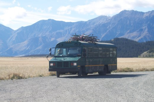 "My custom Alaska hunting vehicle aka... the ""Bus Tank"""