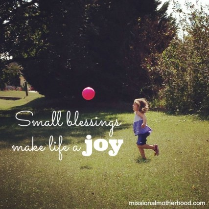 Image result for small blessings