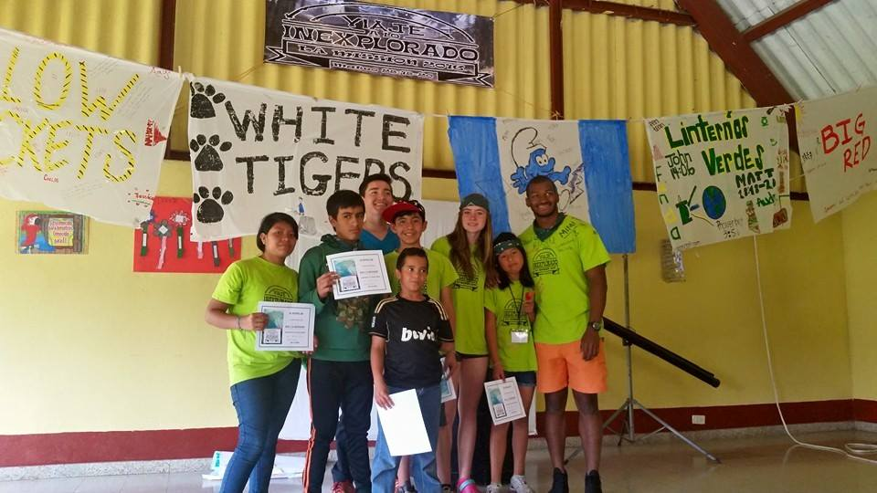 Summer camp, La Mission, 2016 for Fundaninos children in Guatemala