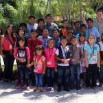 Children from our vocational training classes in Colonia Santa Fe, attending the Zoo