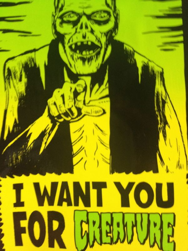 I want you for creature