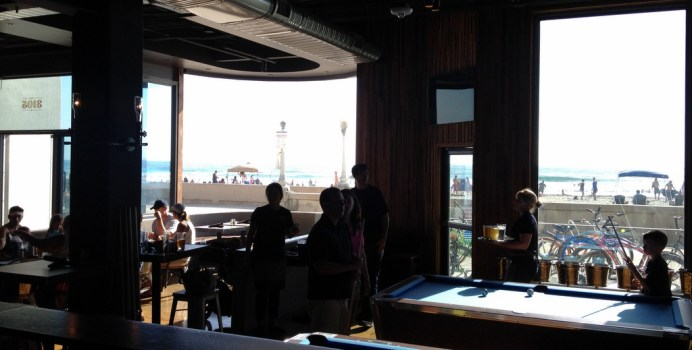 Ocean Views from the Bar seating