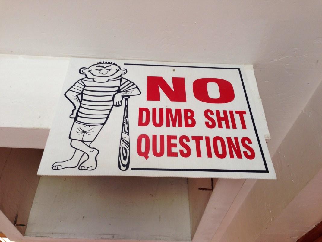 No Dumb Shit Questions OMBAC