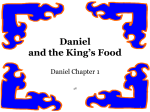 Daniel and the Kings Food Lesson