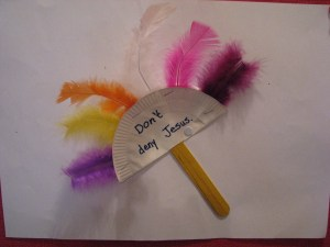 Feather Fan Craft