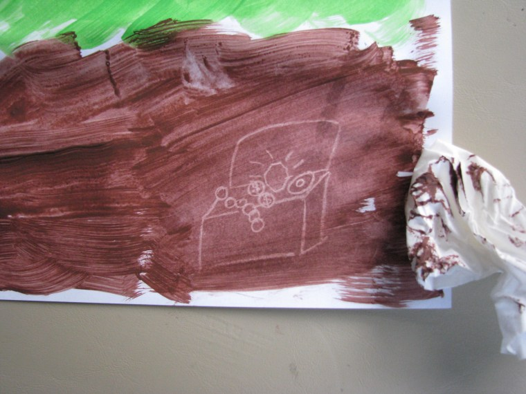 Crayon Resist Hidden Pictures