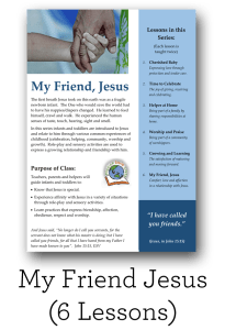 Curriculum for Infants and Toddlers- Ages 0-2 – Mission Bible Class