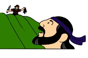 6_David Shows Mercy to Saul